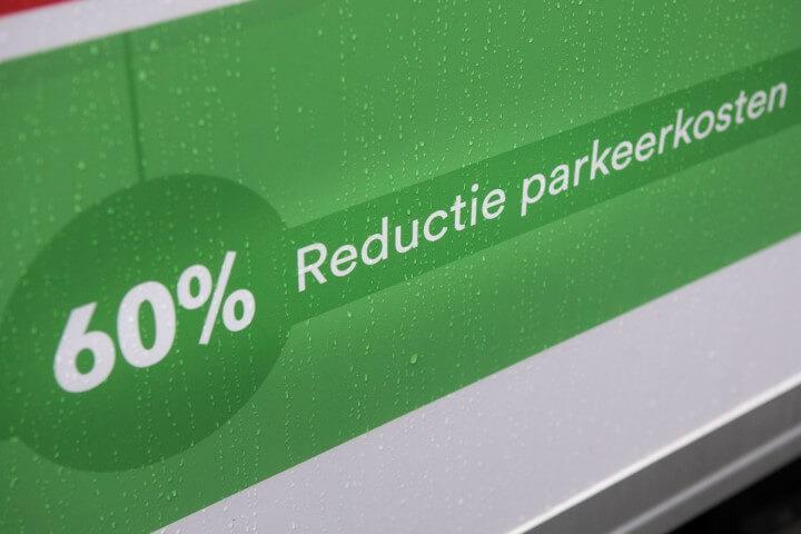 Deudekom bouwlogistiek voordeel reductie parkeerkosten