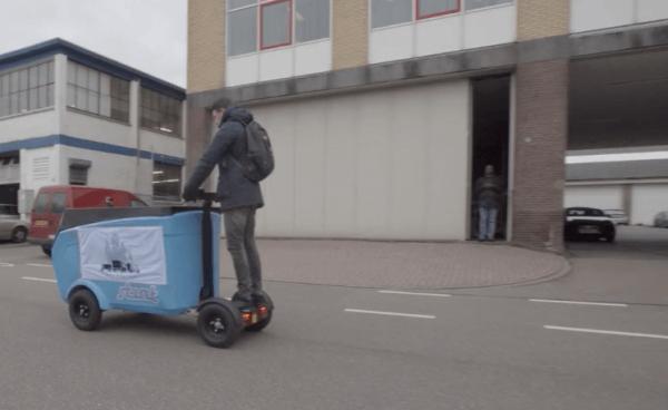 Onderzoek stadsdistributie met LEVV's vanuit Deudekom hub