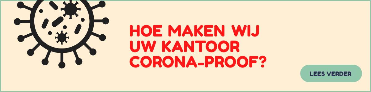 Hoe maken wij uw kantoor corona-proof?